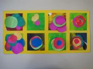 Kandinsky - Colagem de Papel